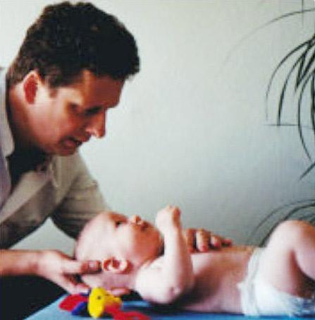 Osteopathie behandeling van baby's en kinderen